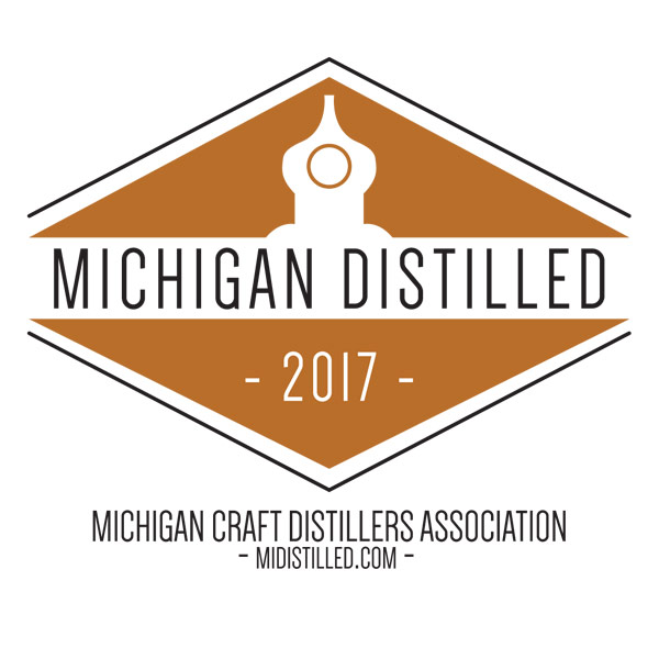 michigan distilled logo